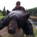 Black bear hunting in canada