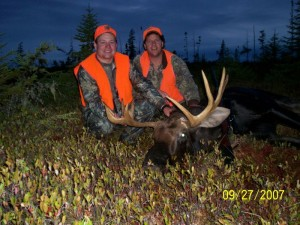 moose hunts in NB, Canada